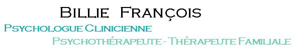 Billie François – Psychologue Paris 12